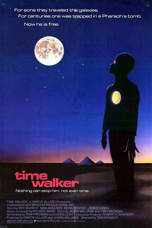 Us poster from the movie Time Walker