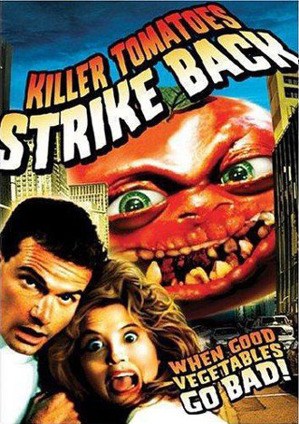 Unknown artwork from the movie Killer Tomatoes Strike Back!