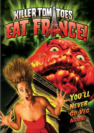 Unknown artwork from the movie Killer Tomatoes Eat France!