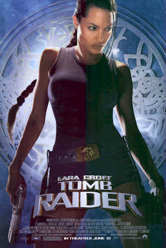 Us poster from the movie Lara Croft: Tomb Raider