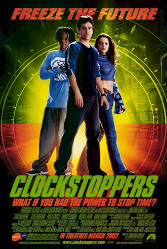 Us poster from the movie Clockstoppers