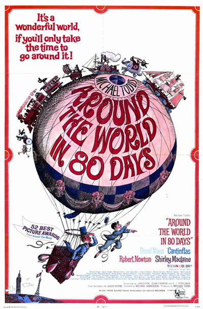 Us poster from the movie Around the World in Eighty Days