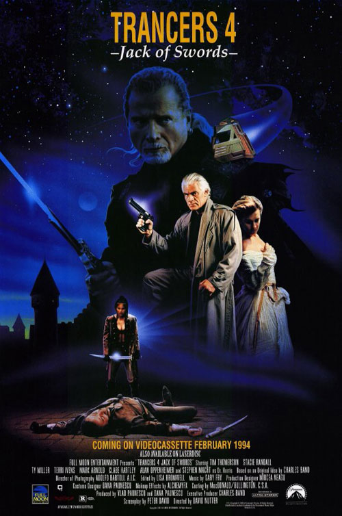 Us poster from the movie Trancers 4: Jack of Swords