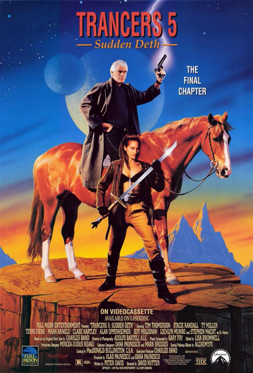 Us poster from the movie Trancers 5: Sudden Deth
