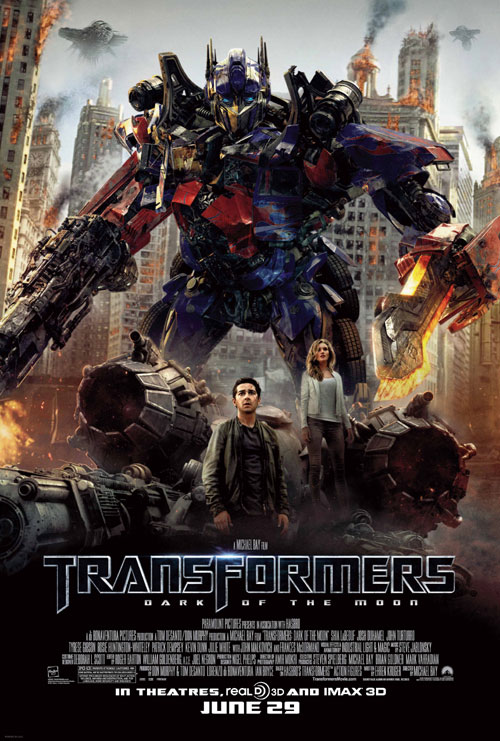Us poster from the movie Transformers: Dark of the Moon