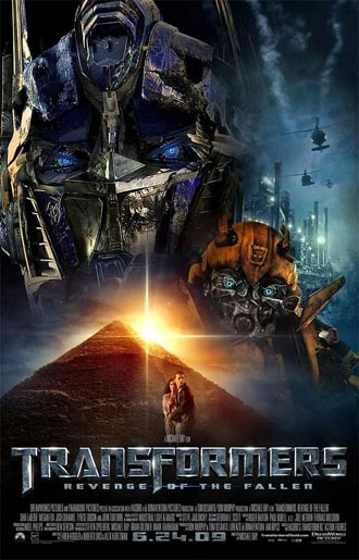 Us poster from the movie Transformers: Revenge of the Fallen