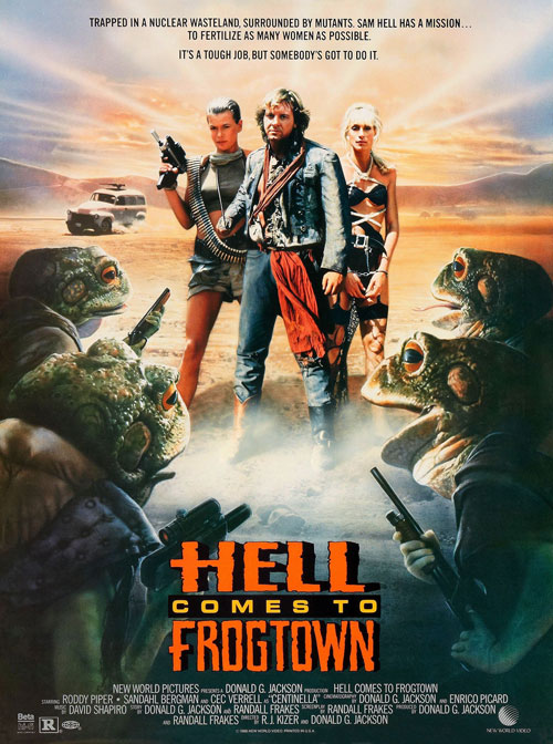 Us poster from the movie Hell Comes to Frogtown