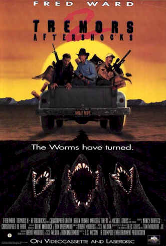 Us poster from the movie Tremors II: Aftershocks