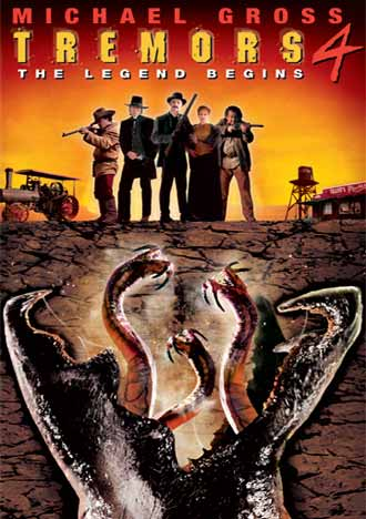 French poster from the movie Tremors 4: The Legend Begins