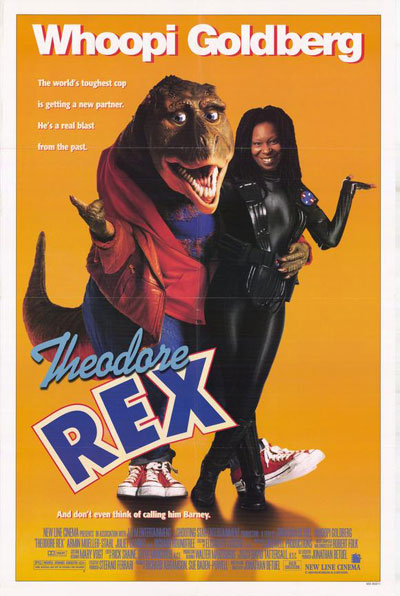 Us poster from the movie Theodore Rex