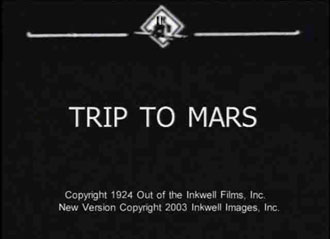 Unknown artwork from the movie Trip to Mars