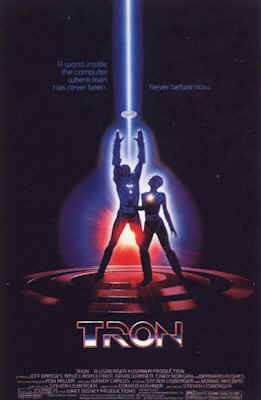 Unknown poster from the movie TRON
