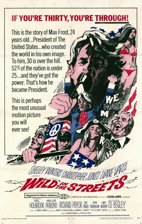 Us poster from the movie Wild in the Streets