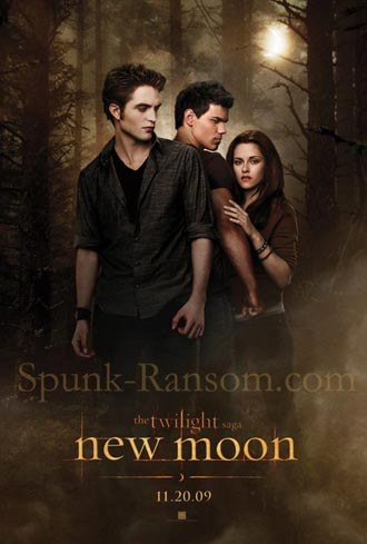 Us poster from the movie New Moon