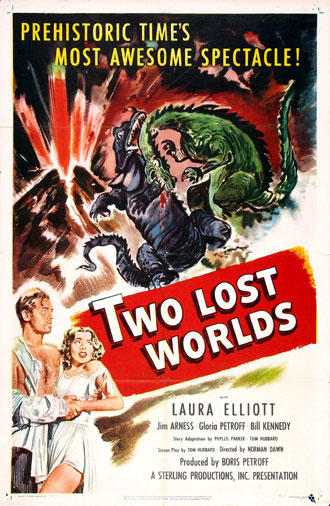 Unknown poster from the movie Two Lost Worlds