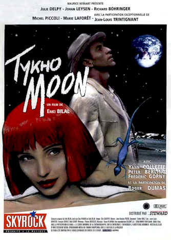 French poster from the movie Tykho Moon