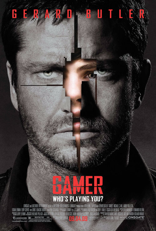 Us poster from the movie Gamer