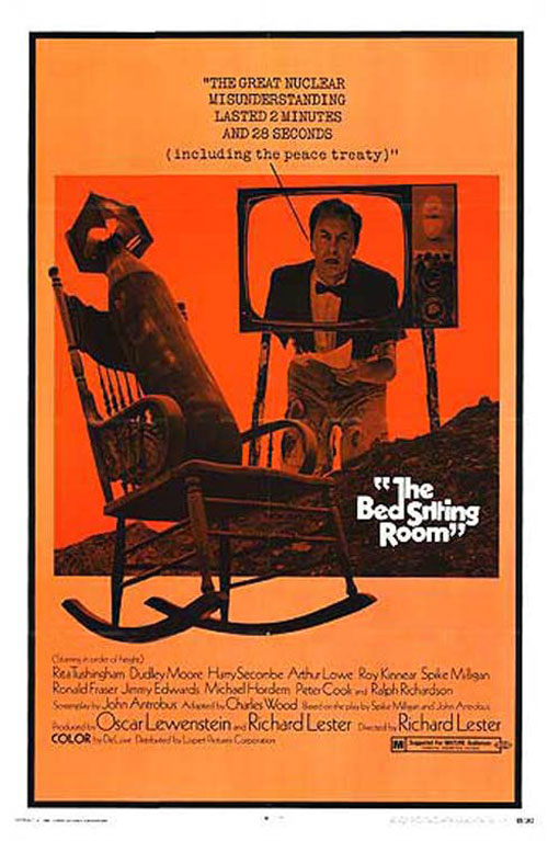 Unknown poster from the movie The Bed Sitting Room