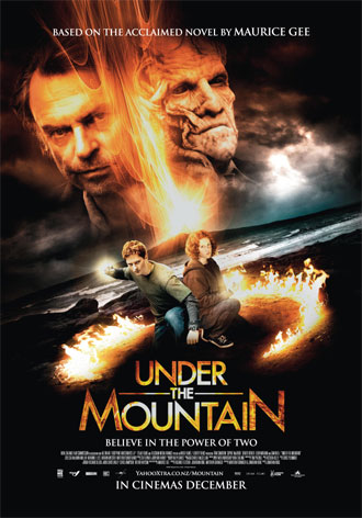 New zealander poster from the movie Under the Mountain