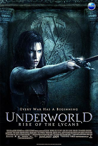 Us poster from the movie Underworld: Rise of the Lycans