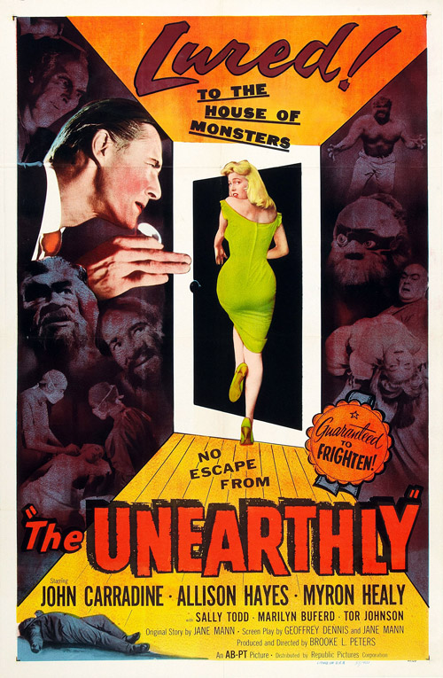 Us poster from the movie The Unearthly