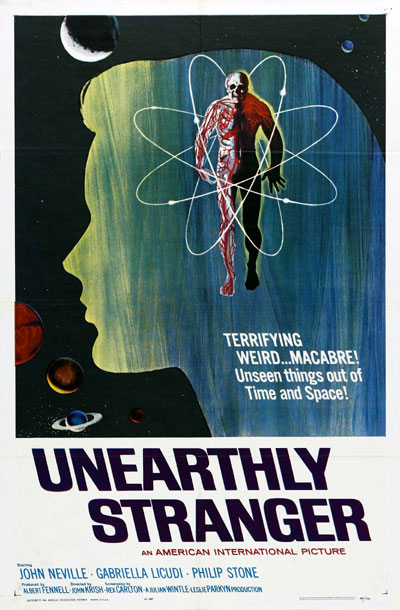 Us poster from the movie Unearthly Stranger