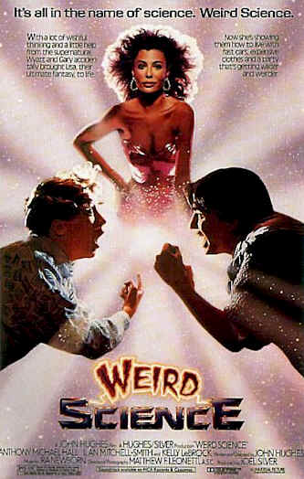 Unknown poster from the movie Weird Science
