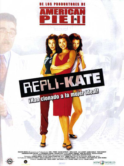 Spanish poster from the movie Repli-Kate