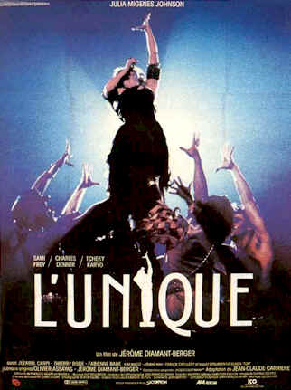 French poster from the movie The Original (L'unique)