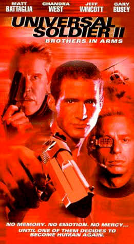 Us poster from the TV movie Universal Soldier II: Brothers in Arms