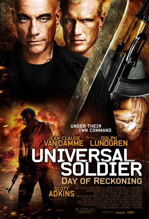 Us poster from the movie Universal Soldier: Day of Reckoning