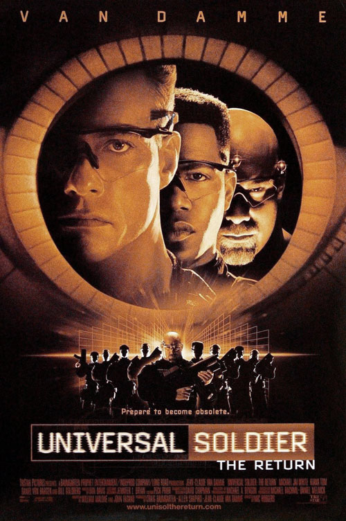Us poster from the movie Universal Soldier: The Return
