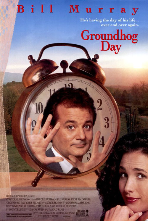 Us poster from the movie Groundhog Day
