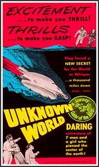 Us poster from the movie Unknown World