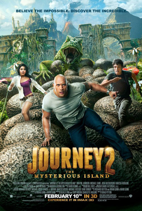 Us poster from the movie Journey 2: The Mysterious Island