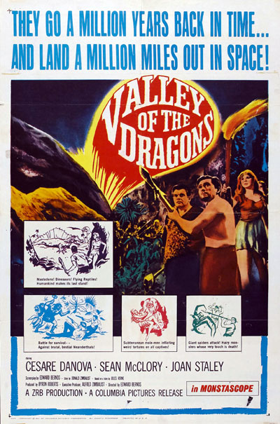 Us poster from the movie Valley of the Dragons