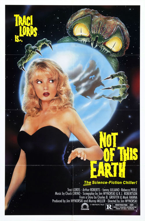 Us poster from the movie Not of This Earth