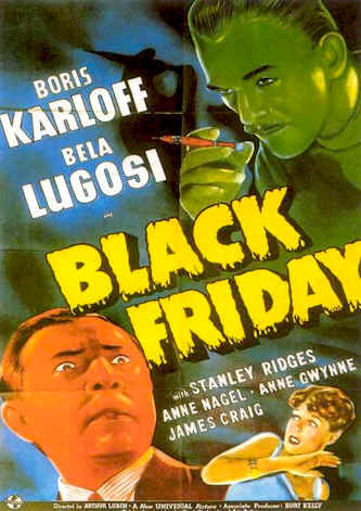 Unknown poster from the movie Black Friday