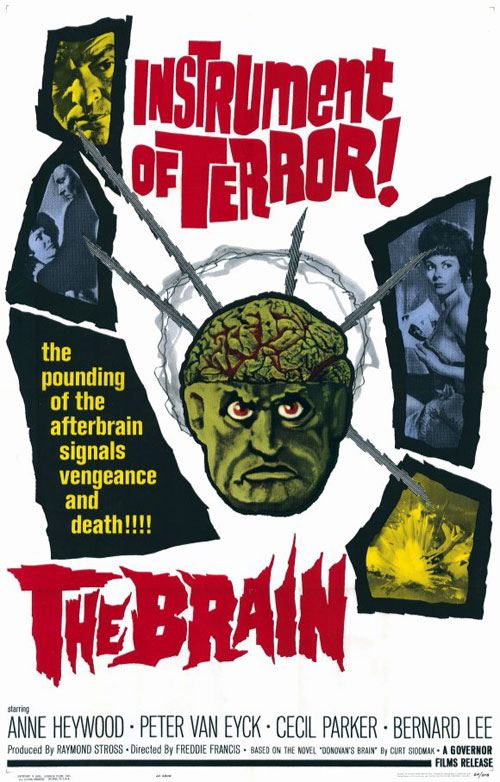 Unknown poster from the movie The Brain