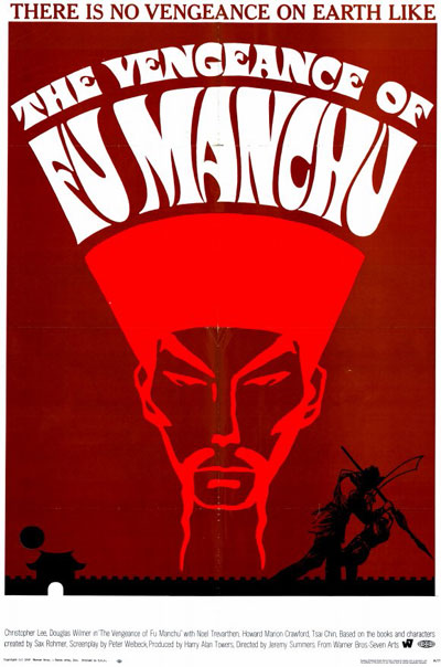 Unknown poster from the movie The Vengeance of Fu Manchu