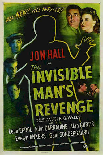 Unknown poster from the movie The Invisible Man's Revenge