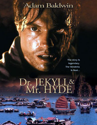 French poster from the TV movie Dr. Jekyll and Mr. Hyde
