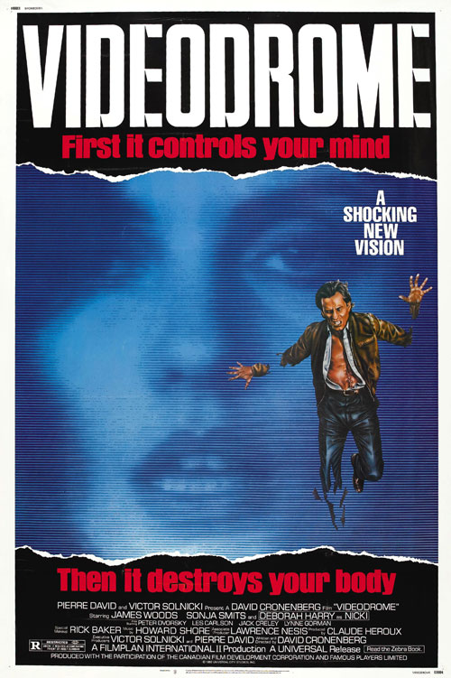 Us poster from the movie Videodrome