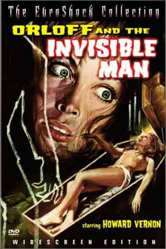 Us poster from the movie Orloff and the Invisible Man (La vie amoureuse de l'homme invisible)
