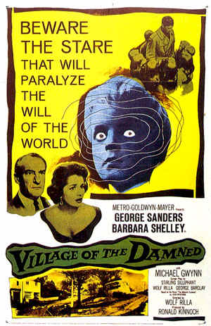 Unknown poster from the movie Village of the Damned