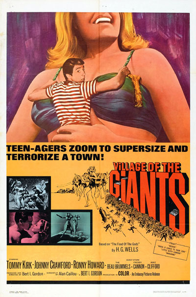 Unknown poster from the movie Village of the Giants
