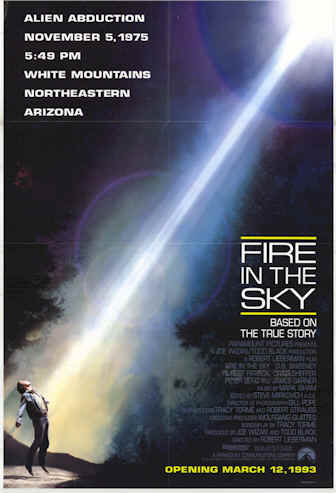 Unknown poster from the movie Fire in the Sky