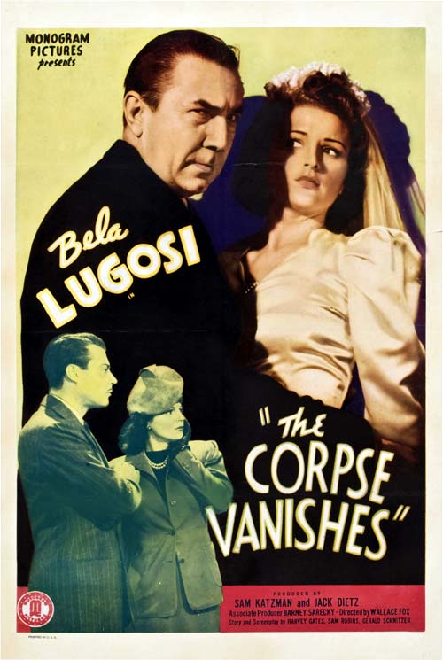 Us poster from the movie The Corpse Vanishes