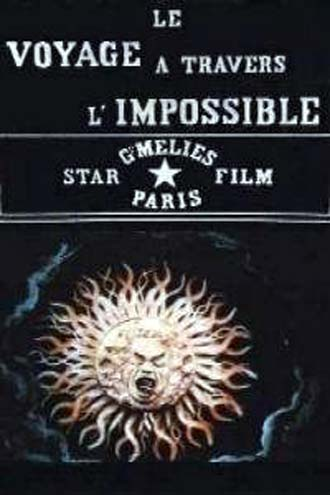 Unknown artwork from the movie Le voyage à travers l'impossible