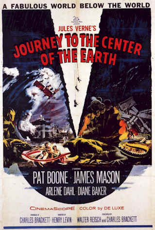 Unknown poster from the movie Journey to the Center of the Earth
